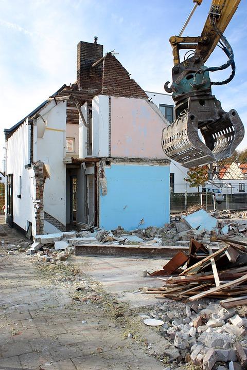 разрушаване на постройки